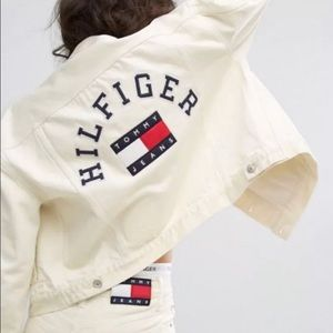 Tommy Jeans '90s Revival Trucker Jacket Size Small